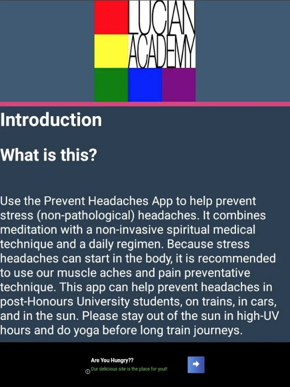 Prevent Headaches App Image 2